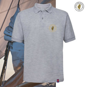 RCYC Club Classic Polo - Heather Grey - The Oldest Yacht Club in the World