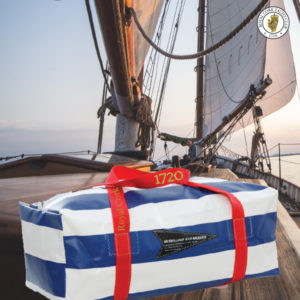 RCYC Club McWilliams Bag - Navy Red White - The Oldest Yacht Club in the World