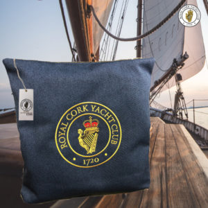 RCYC Club Embroidered Cushion Cover - Navy