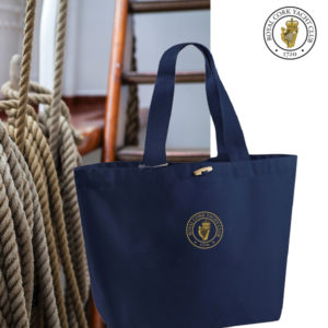 RCYC Canvas Deck Tote Bag - Navy - Official club Product.
