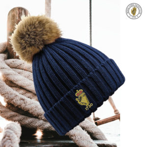 RCYC Club Lady Pom-pom beanie navy