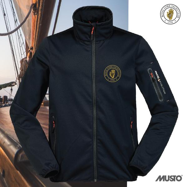 RCYC Musto Evolution Softshell Jacket Navy
