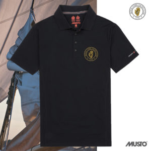 RCYC Musto Evolution Sunblock Polo Shirt Navy