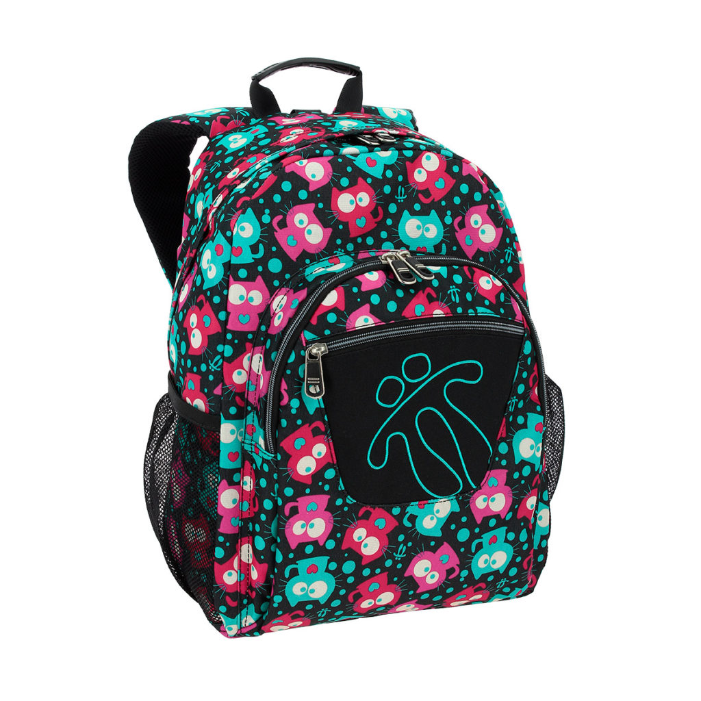KitCat Totto School Backpack Acuareles 3