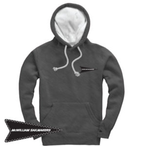 McWilliam Original Heather Black Hoodie