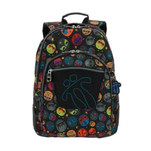 Black Totto Crayola School BackPack