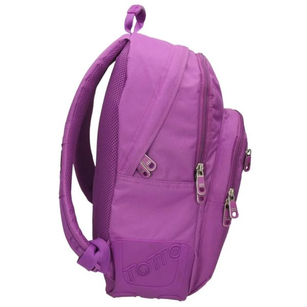 TOTTO BACKPACK CRAYOLA COLLECTION - Purple lateral