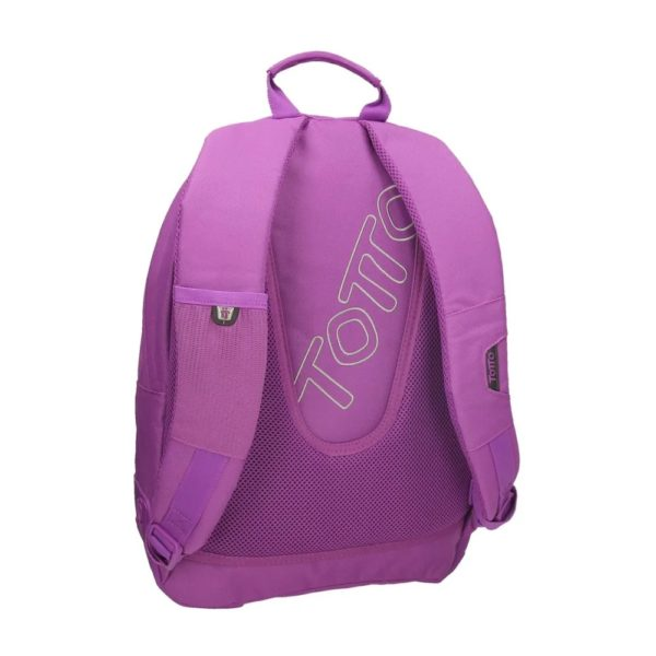 TOTTO BACKPACK CRAYOLA COLLECTION - Purple Back