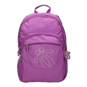 TOTTO BACKPACK CRAYOLA COLLECTION - Purple front
