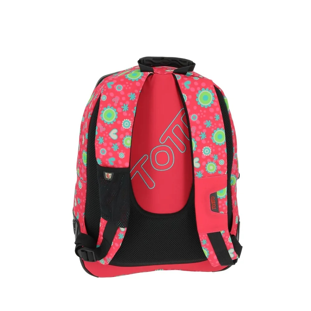 Red Totto Crayola School BackPack