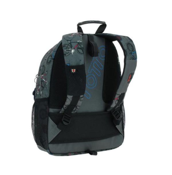 TOTTO ACUARELES GREY BACKPACK