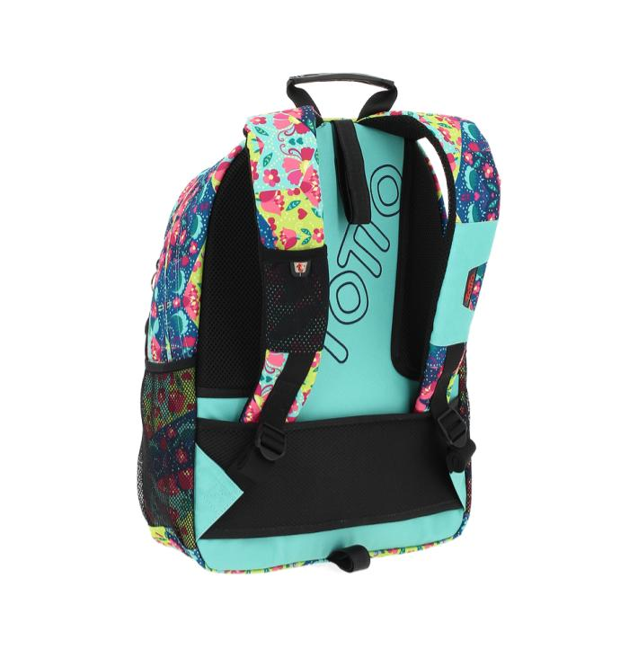 TOTTO ACUARELES SKY BLUE BACKPACK