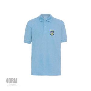Gaelscoil Charraig Ui Leighin Sky Blue Polo Shirt