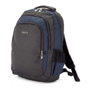 Benzi Navy Blue School Backpack