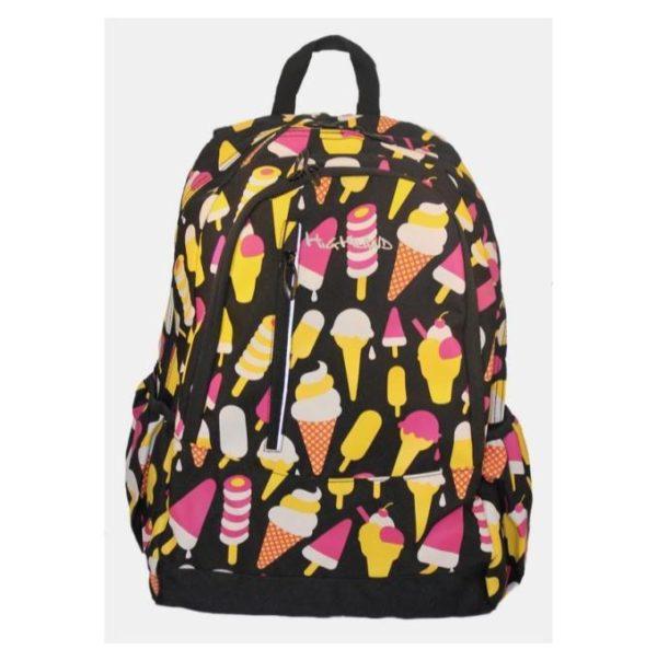 Highland Black Ice-Cream School Backpack