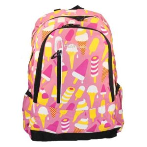 Highland Pink Ice-Cream School Backpack